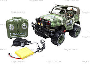 Машина на радиоуправлении «Военный джип», 3008, toys