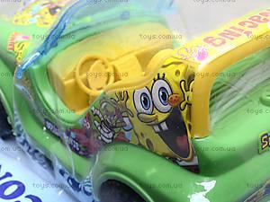 Машина на управлении «Спанч Боб», 605, цена