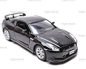 Машина Nissan GT-R R35 2009, KT5340W, игрушки