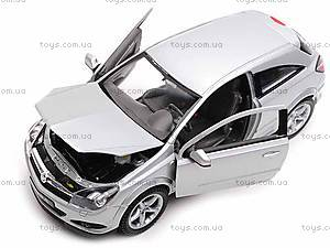 Машина Opel Astra GTC 2005, 22469W, детские игрушки