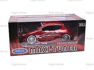 Машина Peugeot 206 Tuning, 22486W, игрушки