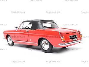 Машина Peugeot 404 Cabriolet (Soft Top), 22494H-W, купить