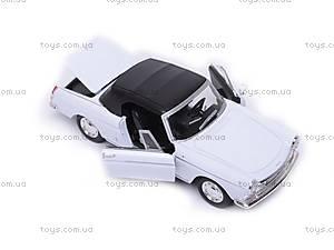 Машина Peugeot 404 Cabriolet (Soft Top), 22494H-W, детские игрушки