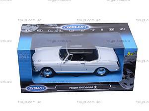 Машина Peugeot 404 Cabriolet (Soft Top), 22494H-W, toys