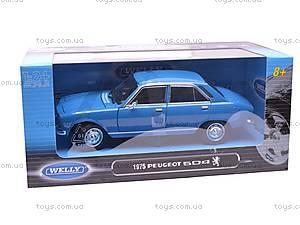 Машина  Peugeot 504 1975, 24001W, игрушки