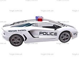 Машина полицейская на радиоуправлении, R-2020A, фото