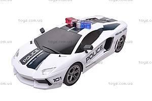 Машина полицейская на радиоуправлении, R-2020A, отзывы