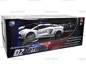 Машина полицейская на радиоуправлении, R-2020A, игрушки