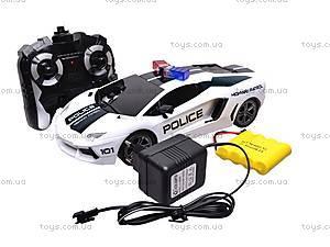 Машина полицейская на радиоуправлении, R-2020A