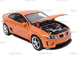 Машина Pontiac GTO Ram Air , 22468W, игрушки