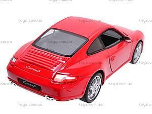 Машина Porsche 911 (977) Carrera S Coupe, 22477W, магазин игрушек