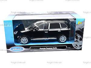 Машина Porsche Cayenne Turbo, 22431W, игрушки