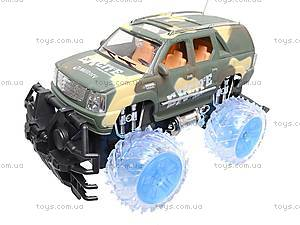 Машина радиоуправляемая «Армейский джип», 566-26K, игрушки