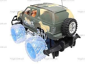 Машина радиоуправляемая «Армейский джип», 566-26K, детские игрушки
