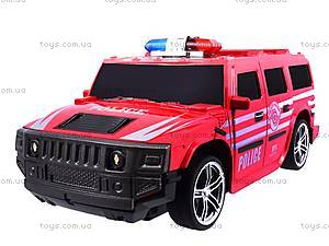 Машина радиоуправляемая «Джип-полиция», 3700-33, фото