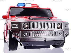 Машина радиоуправляемая «Джип-полиция», 3700-33, детские игрушки