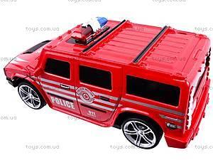 Машина радиоуправляемая «Джип-полиция», 3700-33, магазин игрушек
