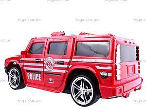 Машина радиоуправляемая «Джип-полиция», 3700-33, toys.com.ua