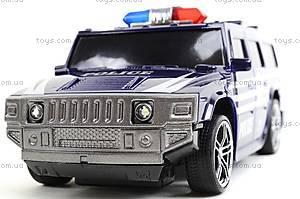 Машина радиоуправляемая «Джип-полиция», 3700-33, toys