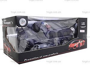 Машина радиоуправляемая «Джип-полиция», 3700-33, іграшки