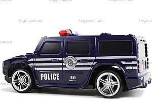 Машина радиоуправляемая «Джип-полиция», 3700-33, детский