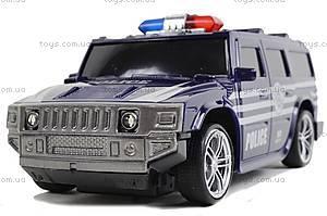 Машина радиоуправляемая «Джип-полиция», 3700-33, Украина
