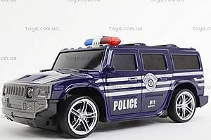 Машина радиоуправляемая «Джип-полиция», 3700-33, доставка