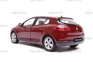 Машина Renault Megane 2009, 24006W, игрушки