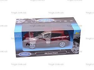 Машина Renault Megane 2009, 24006W, детские игрушки