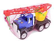 Игрушечная машина, с краном, 05-403, купить