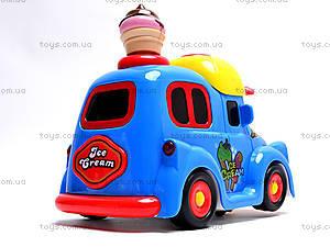 Машина с мыльными пузырями Ice Cream, WS8361B, фото