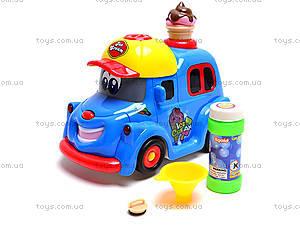 Машина с мыльными пузырями Ice Cream, WS8361B