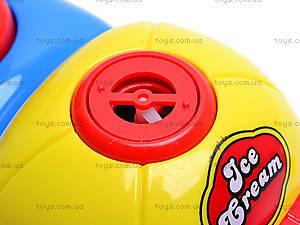 Машина с мыльными пузырями Ice Cream, WS8361B, магазин игрушек