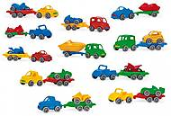 Машина с прицепом Kid Cars Sport, 52600, доставка