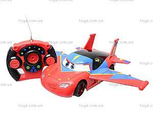 Машина-самолет на радиоуправлении «Тачки», 6777-29, детские игрушки
