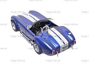 Машина Shelby Cobra , KT5322W, купить