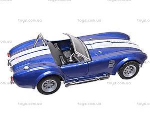 Машина Shelby Cobra , KT5322W, фото