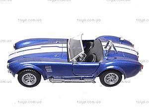 Машина Shelby Cobra , KT5322W, отзывы