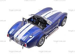Машина Shelby Cobra , KT5322W, игрушки