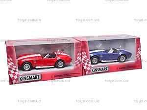 Машина Shelby Cobra , KT5322W, детские игрушки