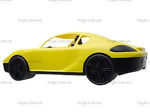 Гоночная спортивная машинка желтого цвета, 07-702, купить