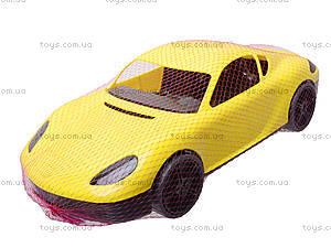 Гоночная спортивная машинка желтого цвета, 07-702, отзывы