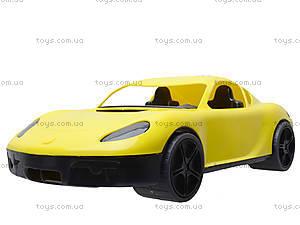 Гоночная спортивная машинка желтого цвета, 07-702, цена