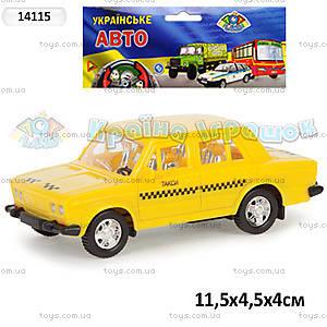 Машина «Такси», инерционная, 14115