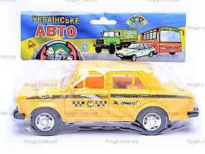 Машина «Такси», ВАЗ-2106, 16115, игрушки