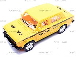 Машина «Такси», ВАЗ-2106, 16115, магазин игрушек