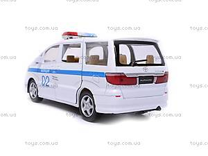 Машина Toyota Alphard «ДПС», KT5066WR-1, купить