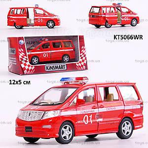 Машина Toyota Alphard «Пожарная», KT5066WR