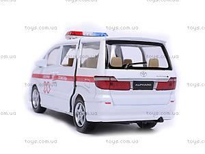Машина Toyota Alphard «Скорая помощь», KT5066WR-3, цена
