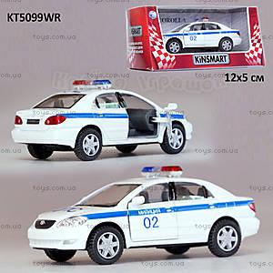 Машина Toyota Corolla «Пожарная охрана», KT5099WR